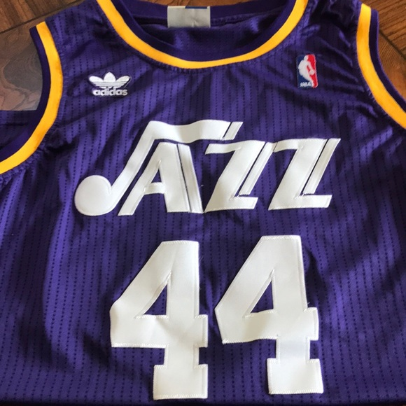 90068b1d1bbe adidas Other - NBA Jazz Pistol Jersey  44 adidas Men s XLARGE